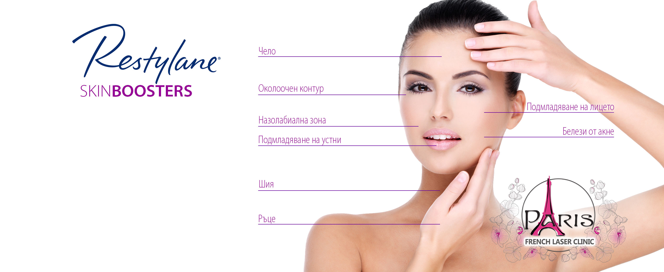 SkinBoosters от Restylane - Мезотерапия