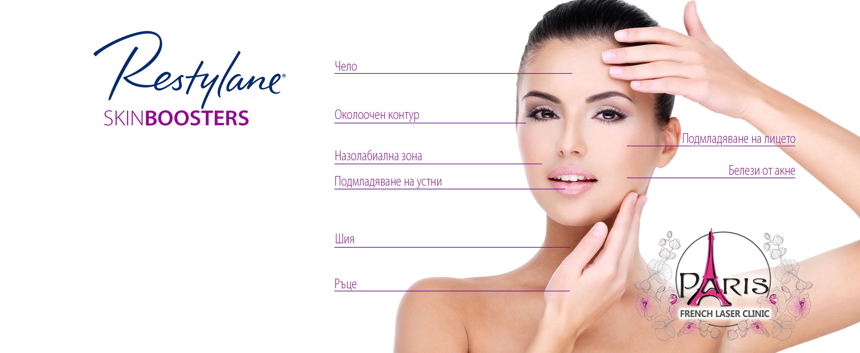 SkinBoosters от Restylane - Мезотерапия