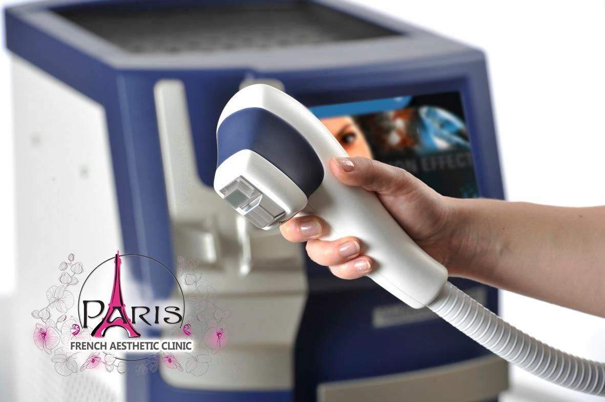 Лазерното лечение с диодния лазер MeDioStar NeXT на Asclepion - Лазер Клиник Париж