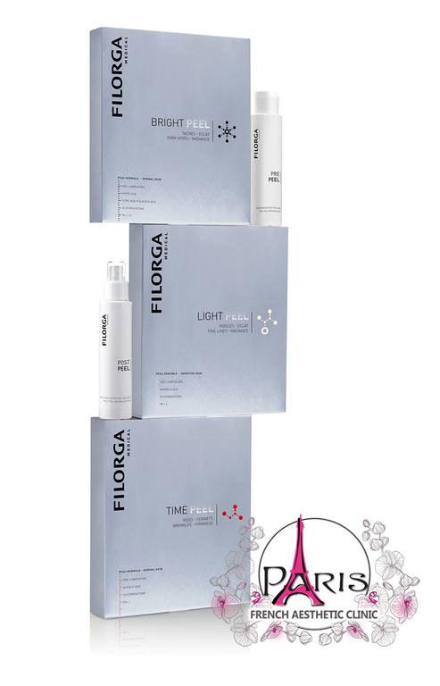 Пилинги ФИЛОРГА - за подмладяване, против актне, пигментни петна, мелазма - Лазер Клиник Париж
