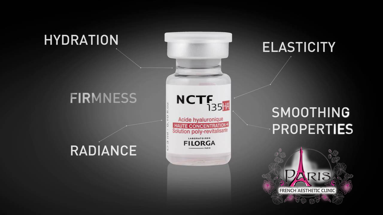 Мезотерапия NCTF 135 HA FILORGA PARIS - Заличване на бръчки, намаляване на порите, изравняване на тена - Лазер Клиник ПАРИЖ