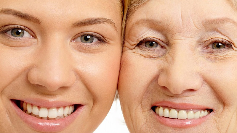 Формиране на бръчки с възрастта