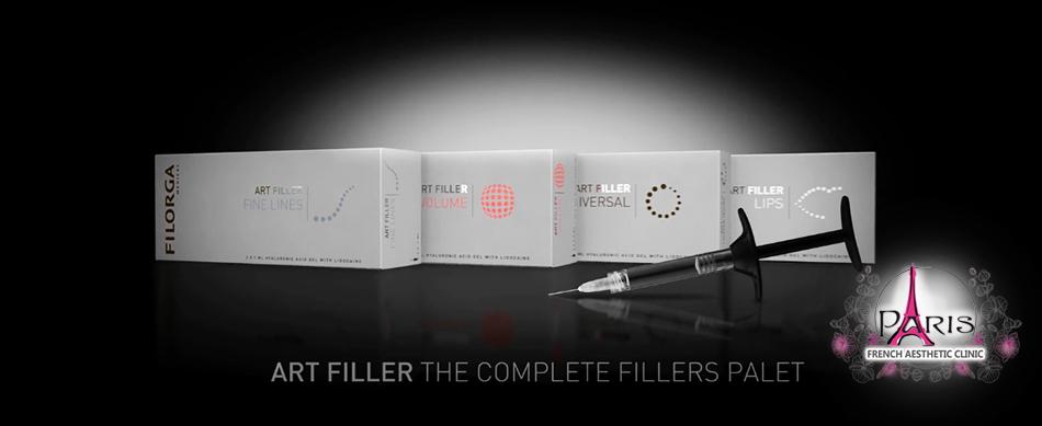 Филъри с хиалуронова киселина ART FILLER - FILLMED - FILORGA PARIS - Лазер Клиник ПАРИЖ